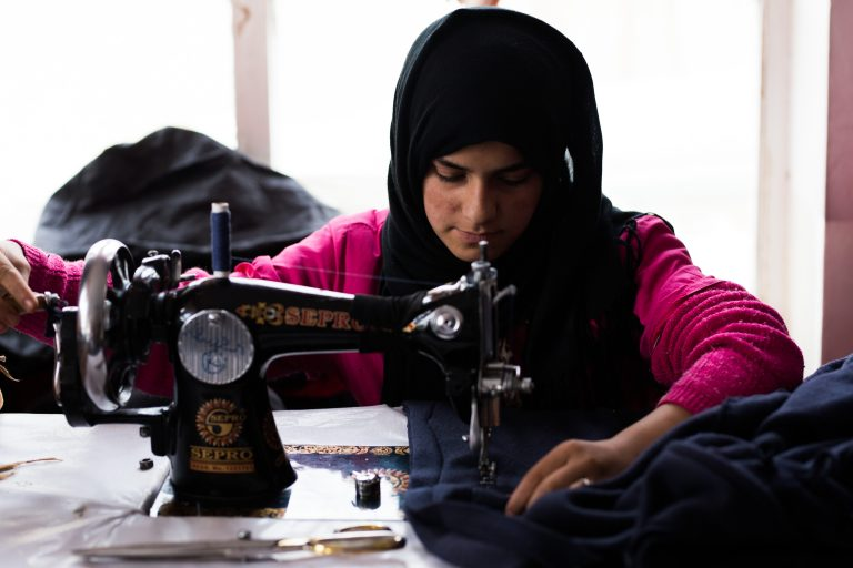 Footage of Kabul Tailoring Project By Kern Hendricks
