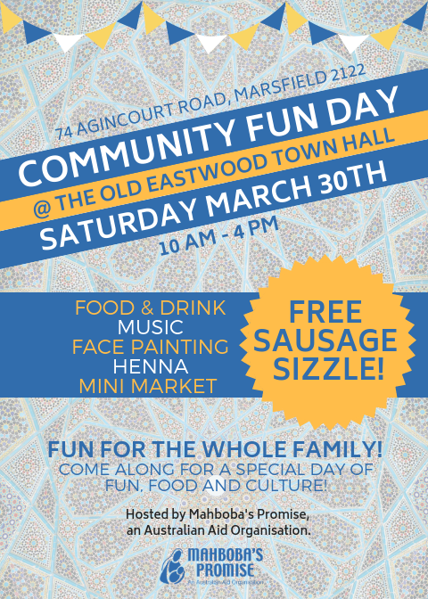 Community FUN DAY Flyer (2)