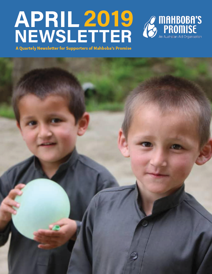 april newsletter cover