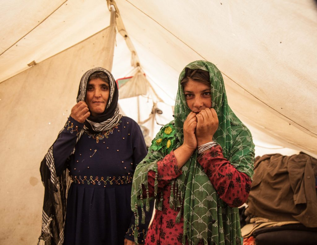 'Afghan mother and daughter' Mahboba's Promise Afghanistan 2021