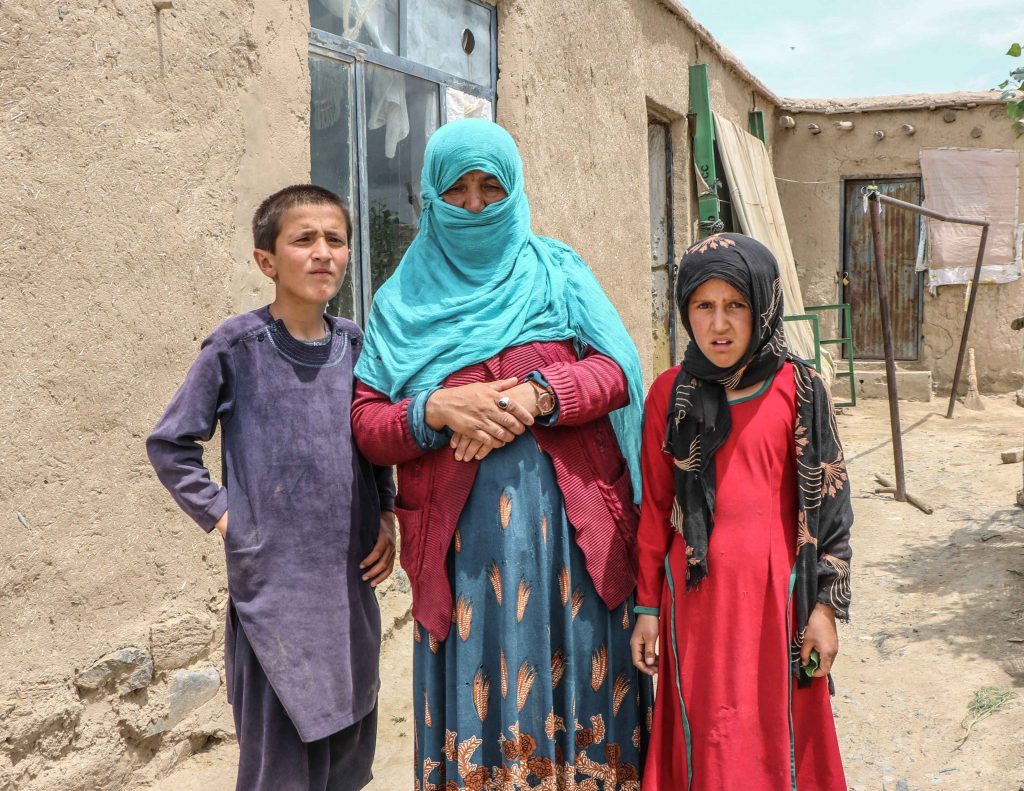 'Woman & Children' Mahboba's Promise Afghanistan